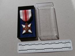Croix Rouge De Belgique - Medaille De Donneur De Sang - Rood Kruis Van Begië - Medaille Bloedgever - Equipo Dental Y Médica