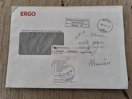 Lithuania Litauen Cover Sent From  Siauliai To Kaunas 2013  Returned From Nemezis - Lituania
