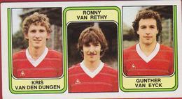 Panini Football 83 Voetbal Belgie 1983 Sticker Nr. 366 FC Beringen Kris Van Dungen Ronny Van Rethy Gunther Van Eyck - Sport
