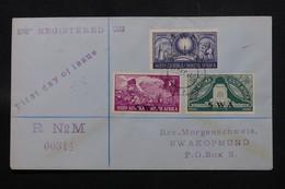 AFRIQUE DU SUD - Enveloppe FDC En 1949 En Recommandé Pour Swakopmund - L 59716 - South Africa (...-1961)