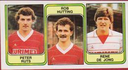 Panini Football 83 Voetbal Belgie 1983 Sticker Nr. 367 FC Beringen Peter Ruts Rob Hutting Rene De Jong - Sport