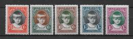 LUXEMBOURG - YVERT N°214/18 * MLH - COTE = 9 EUROS - ANNEE COMPLETE 1929 - Neufs