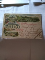 Germany.rarest 1898 Grúss Aus Postally Used Dottendorf Shows Villa Neumann.restauration C.j Mahler.burg Dottendorf Bette - Bonn