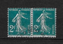FRANCE 1927 . N° 239  En Paire . Oblitérés . - France