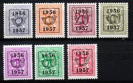 PRE 659/665 - MNH**  - Cote 16,50 € - Typo Precancels 1951-80 (Figure On Lion)