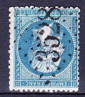France-Yv 22, GC 3528 St Bonnet-de-Joux (70) - Marcophily (detached Stamps)