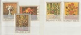 PARAGUAY - 1967 - MI Nrs 1729...1733 -  Bloemen Schilderen - Ongestempeld ** - Paraguay