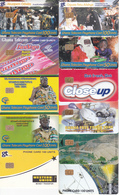 11 Télécartes GHANA Lot3 - Ghana