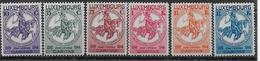 LUXEMBOURG - YVERT N°252/257 * MLH - COTE = 70 EUROS - - Neufs