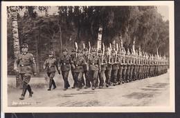 """Postkarte Reichsarbeitsdienst """" Der Ausmarsch """" - Germany"""