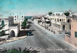 MOGADISCIO-CORSO VITTORIO EMANUELE DALLA GARESA-1961-REAL PHOTO - Somalie