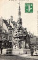 B66595 Cpa Noyon - Fontaine Monumentale - Noyon