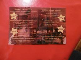 D 75 - Paris - Kazaki Restaurant Bar 108 Rue Amelot - La Russie Au Coeur De Paris - Pubs, Hotels, Restaurants