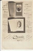 RARE: Communiants Par CHARLES Photographe Portraitiste - 100 Rue De La République à ROUEN - Pub Pour Cartes Postales - Photographie