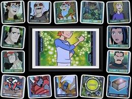 Lot 15 TCG - BEN 10 Alien Aventures - 2009 - Trading Cards