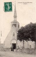 CPA   -  18 - COURS-LES-BARRES - L'Eglise - France