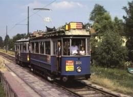 Tram/Strassenbahn Amsterdam,No.301 Näge Kalfjeslaan, Ungelaufen - Tranvía