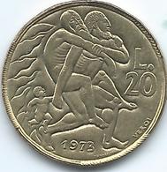 San Marino - 1973 - 20 Lire - KM26 - San Marino