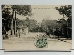 33 - LE MOULLEAU PAR ARCACHON - L'EGLISE - RAOUL LAFFONT PHO. - 1907 - France