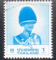 Thailand -(o)used - Ref 11 - 1988 - King Rama IX - 1 Baht - Tailandia