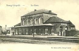 026 796 - CPA -  Leopoldsburg - Bourg-Léopold - La Gare - Leopoldsburg