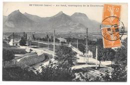 38 - SEYSSINS - Au Fond, Montagnes De La Chartreuse -  1922 - Francia