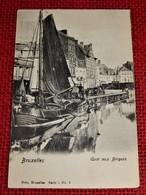 BRUXELLES -  Quai  Aux Briques - Transport (sea) - Harbour
