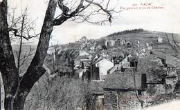 CPA -  12 - NAJAC - Vue Générale Prise Du Château - Najac
