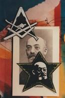 CPM Franc-Maçonnerie Masonic Free Mason Louis Lazare ZAMENHOF Esperanto Photo-montage Tirage Limité (2 Scans) - Esperanto