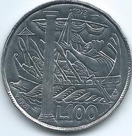San Marino - 1973 - 100 Lire - KM28 - San Marino