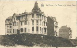 De Panne - La Panne - La Digue - Le Mont Blanc - Star No 1666 - 1930 - De Panne