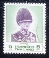 Thailand -(o)used - Ref 11 - 1989 - King Rama IX - 6 Baht - Tailandia