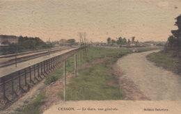 Cesson : La Gare, Vue Générale - Cesson