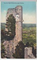(48874) AK Burgruine Starhemberg, Turm Gegen Piesting, Vor 1945 - Autriche