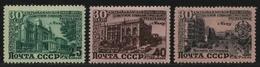 Russia / Sowjetunion 1950 - Mi-Nr. 1477-1479 ** - MNH - Aserbaidschanische SSR - 1923-1991 USSR