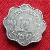Bangladesh 10 Poisha 1980 KM# 11.1 Fao F.a.o. Lt 475  Bangladeche - Bangladesh