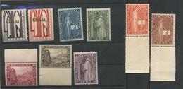 1929. ORVAL *. 258/266 **belle Série Sans Charnière Cote 400-euros - Belgique