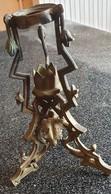 Petit BOUGEOIR ART DECO  Bronze + Laiton ART DECO 1930 - Lámparas
