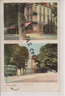 57 - YUTZ - 2 VUES - HOTEL RESTAURANT + TRAMWAY - CARTE RARE - Other Municipalities