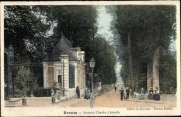 Cp Brunoy Essonne, Avenue Charles Cristofle - Autres Communes