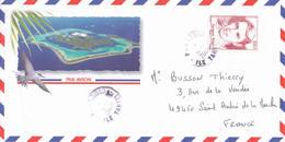 Punaauia Tahiti 2009 Brel Sur Lettre - Tahití
