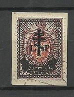 Russia LETTLAND Latvia 1919 Western Army Westarmee Michel 28 O - West Army