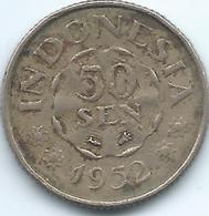 Indonesia - 1952 - 50 Sen - KM9 - Indonesia