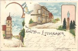 CPA Gruss Aus Lutterbach Alsace Allemande - Mulhouse