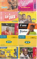 20 Cartes Prépayées AFRIQUE Lot3 - Autres - Afrique