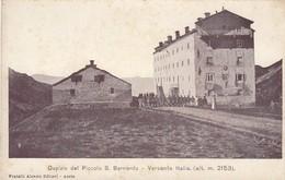 AOSTA-PICCOLO SAN BERNARDO-OSPIZIO-CARTOLINA  NON VIAGGIATA -ANNO 1900-1904 - Aosta