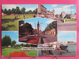 Visuel Pas Très Courant - Ecosse - Greetings From Renfrew - Recto Verso - Renfrewshire