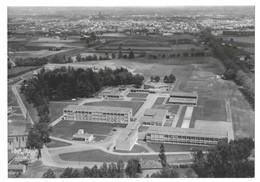 Albi Rare Carte Photo Vue Aérienne Lycée Et Collège Agricoles D' Albi-Fontlabour Photographie Mopy Albi N° 1004-3. - Albi
