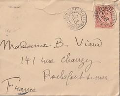 """CACHET"""" CORR. D'ARMEES CONSTANTINOPLE"""" SUR LETTRE 1904 Adressée à Madame  B. VIAU Rochefort - 1877-1920: Semi-moderne Periode"""