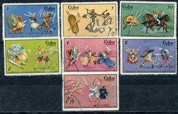 Y85 CUBA 1969 1508-1514 Fencing World Championship, Havana - Fencing